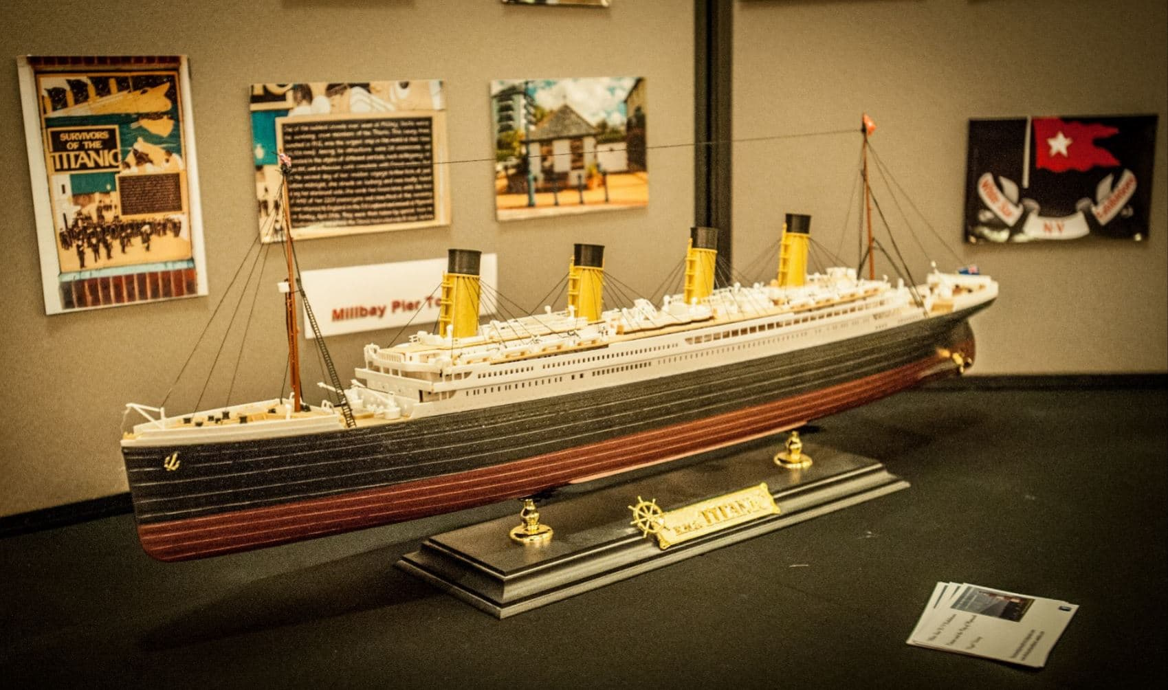 Titanic Exhibition At The Duke The Duke Of Cornwall